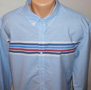 Tommy Hilfiger long sleeve button down shirt. XL